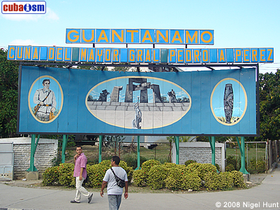 Welcome Sing on Guantanamo City